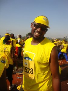 After the MTN 2010 Marathon