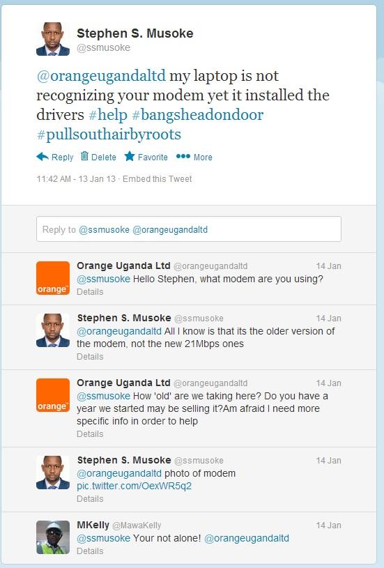 Fixing Orange Uganda Modem Issues on Windows | Stephen Musoke Senkomago