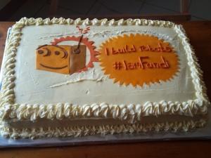 Fundibots Cake - Stylish and Classy