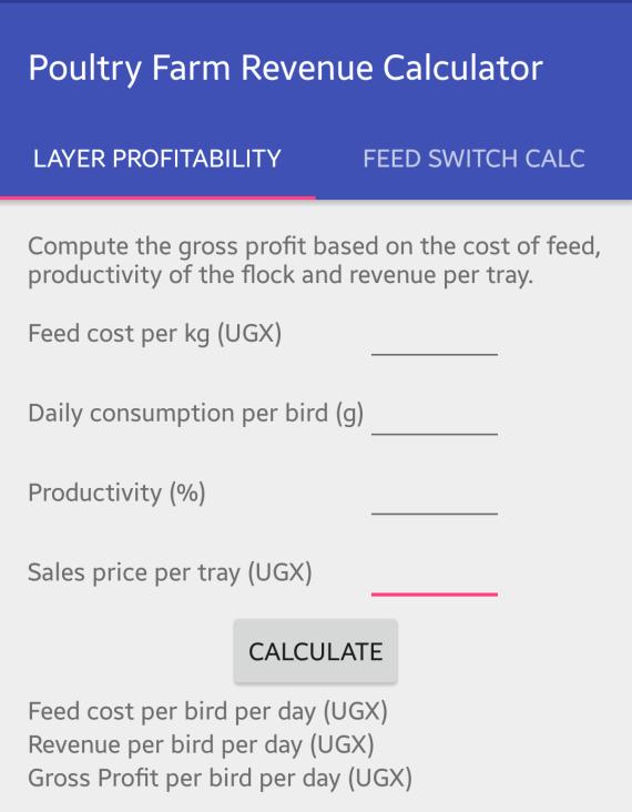 Layer Profitability computation